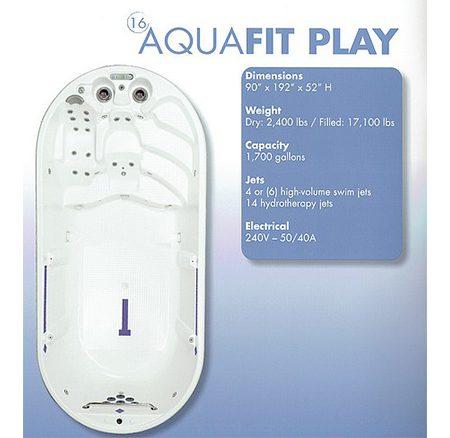 Aqua Fit Play | Swim Spas | Palo Cedro Pool & Spa