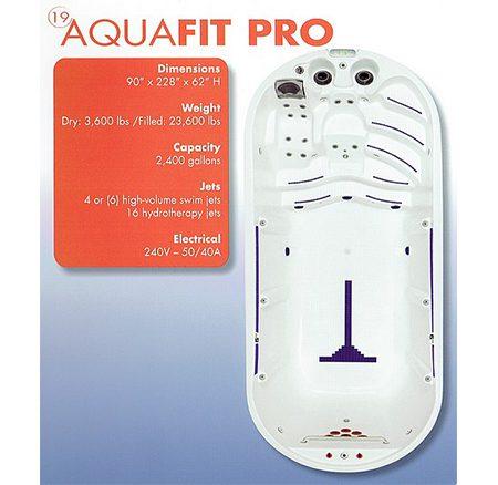 Aqua Fit Pro | Swim Spas | Palo Cedro Pool & Spa