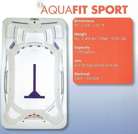 Aqua Fit Sport | Swim Spas | Palo Cedro Pool & Spa