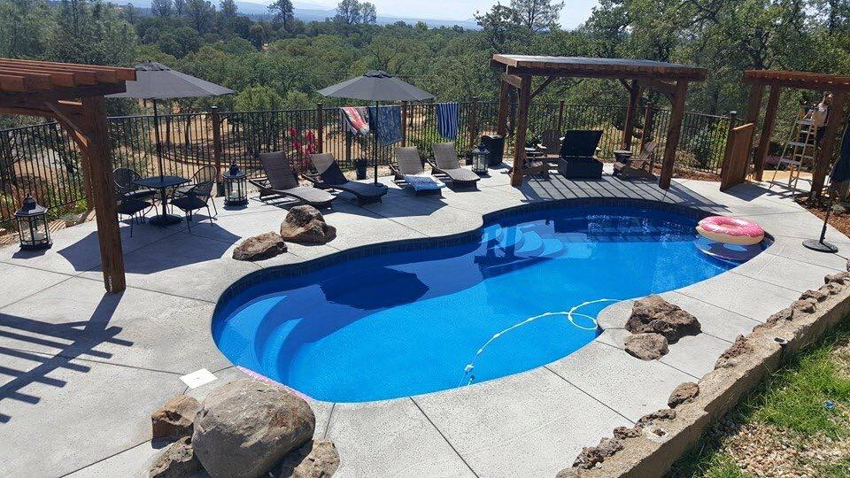 Fiberglass Swimming Pool | Palo Cedro Pool and Spa